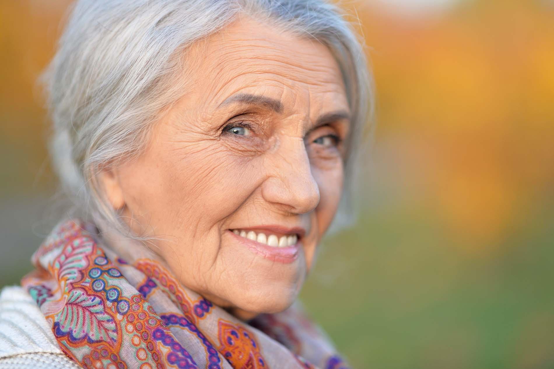 Old Women Smiling