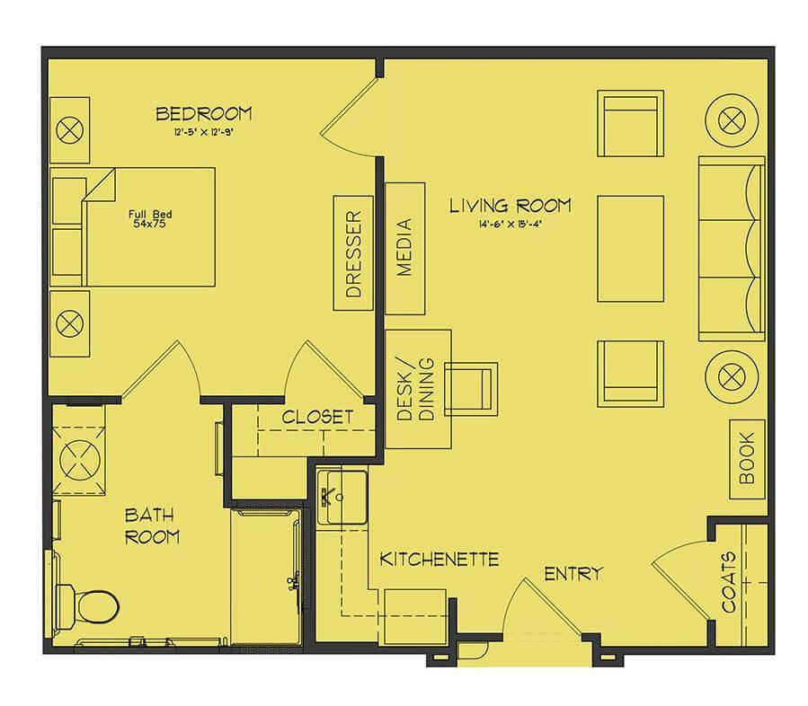 Regent floor plan