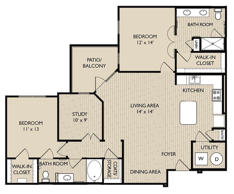 Devon floor plan