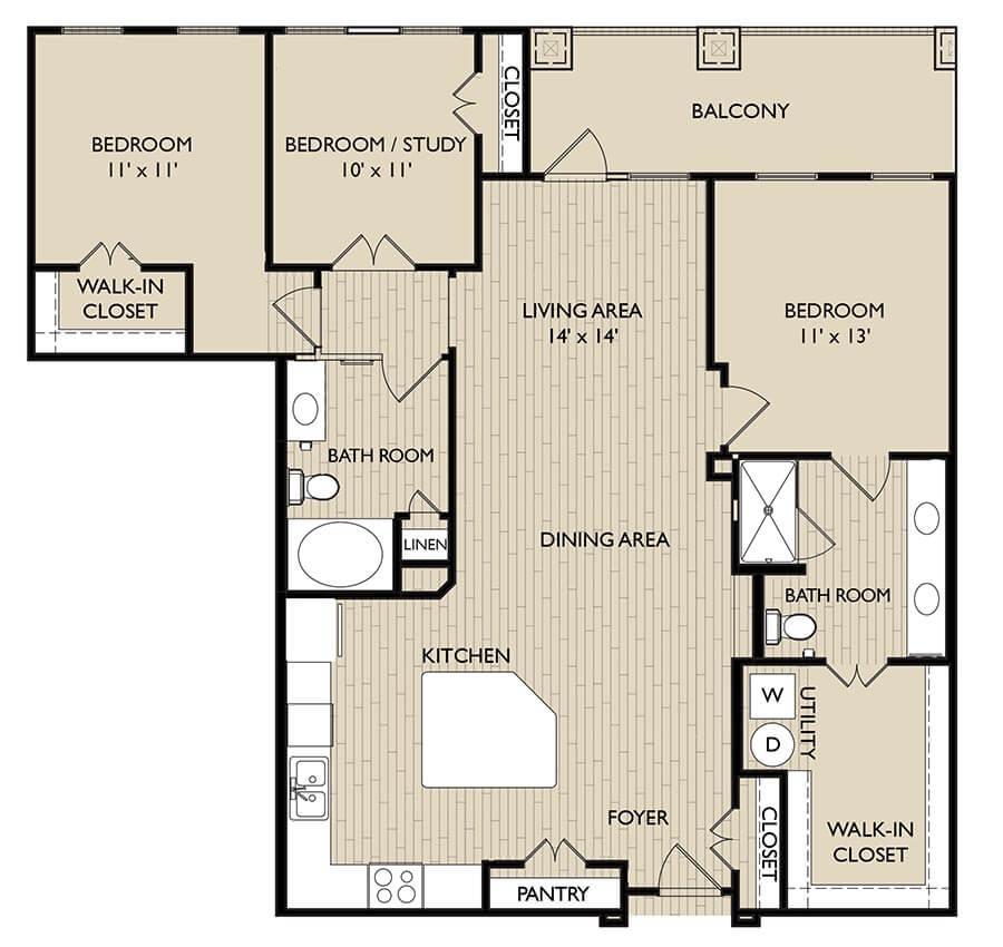 kent floor plan