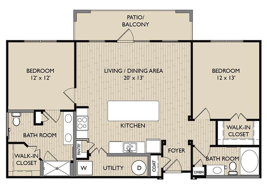 Pembroke floor plan
