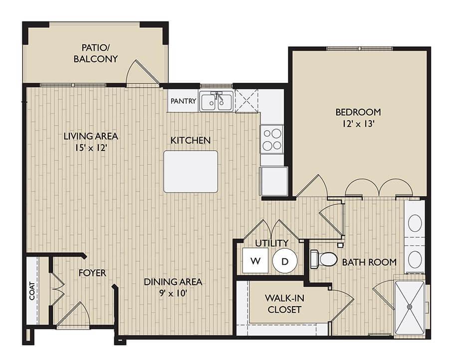 Richmond floor plan
