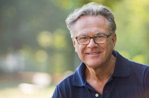 man happy about senior living concierge services