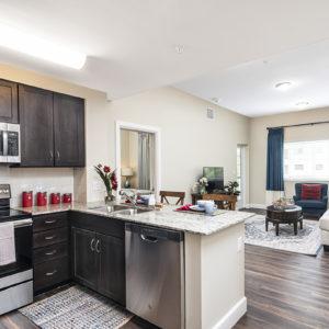 Model Kitchen Room