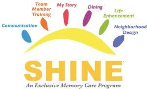 Shine badge