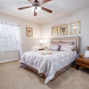 Durango Apartment Model Bedroom