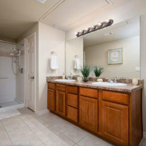 Durango Apartment Model Bedroom Bathroom