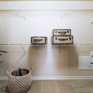 Durango Apartment Model Closet