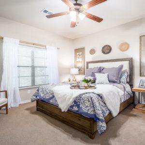 Loveland Cottage Model Bedroom
