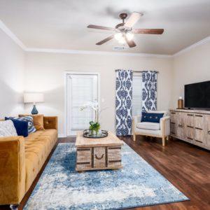 Loveland Cottage Model Living Room