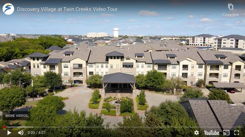 Video tour of twin creeks