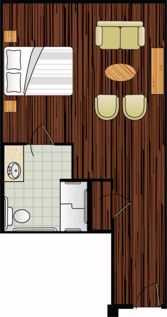 Regency floor plan