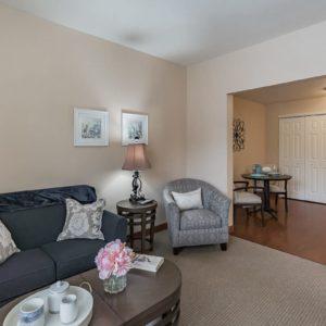 Assisted Living Model Living Room